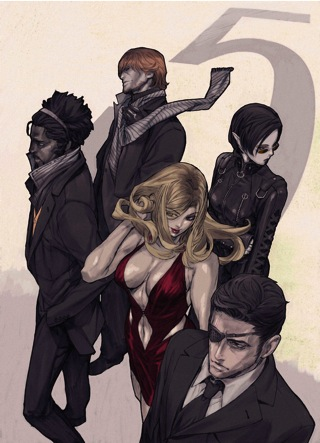 Promo art of the character from The Five Killers
