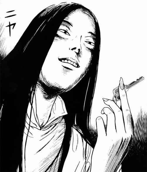 ZashikiOnna, creepy girl