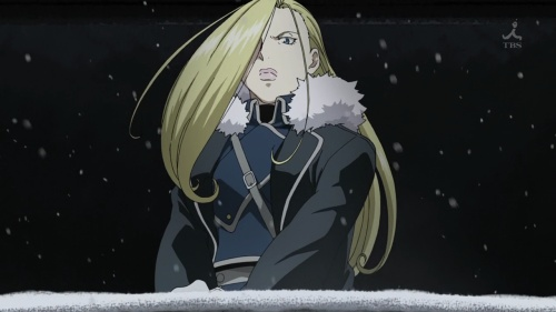 """The """"Ice Queen"""" Olivier Milla Armstrong"""