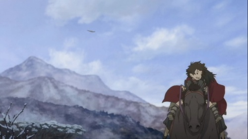 Beautiful Japanese landscape from Sword of the Stranger