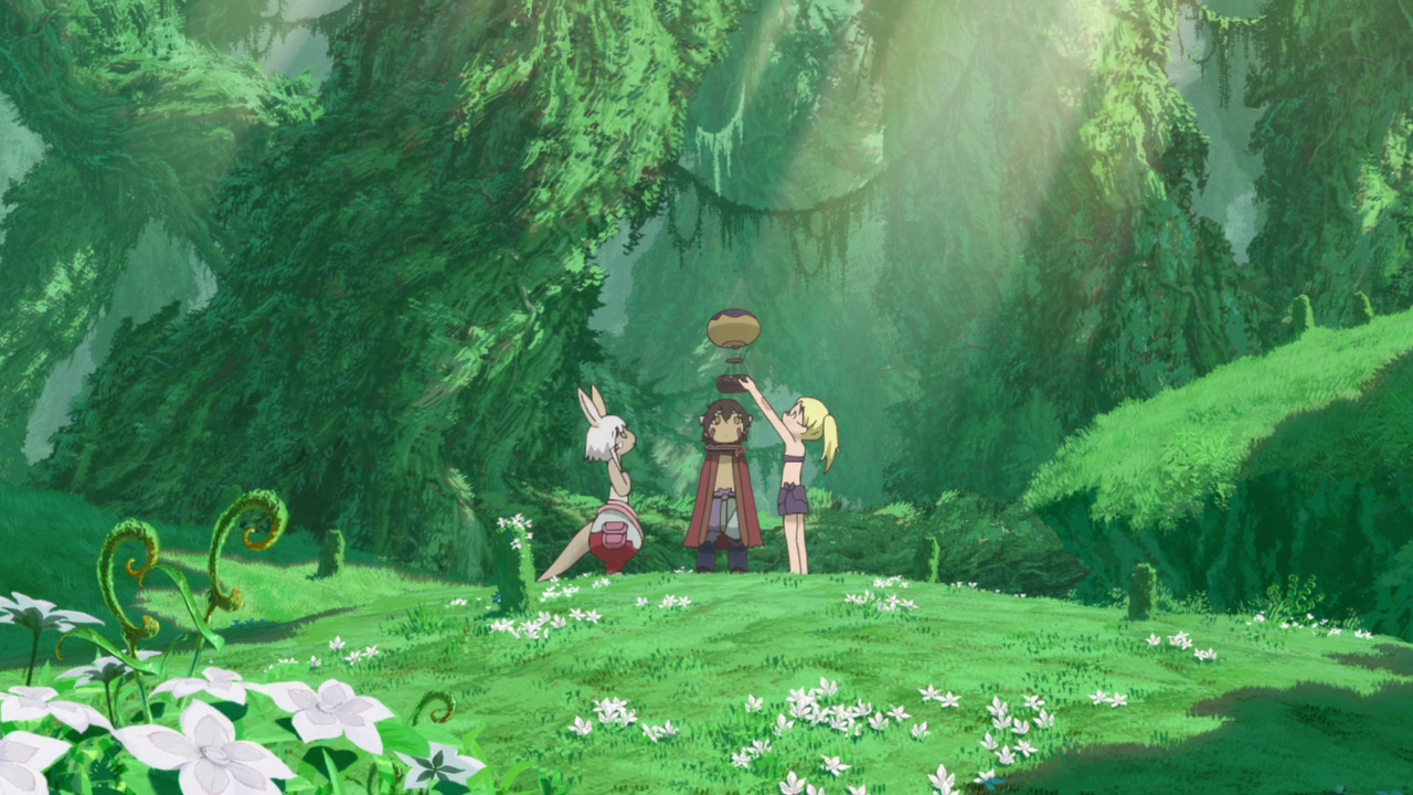The balloon scene in Made in Abyss