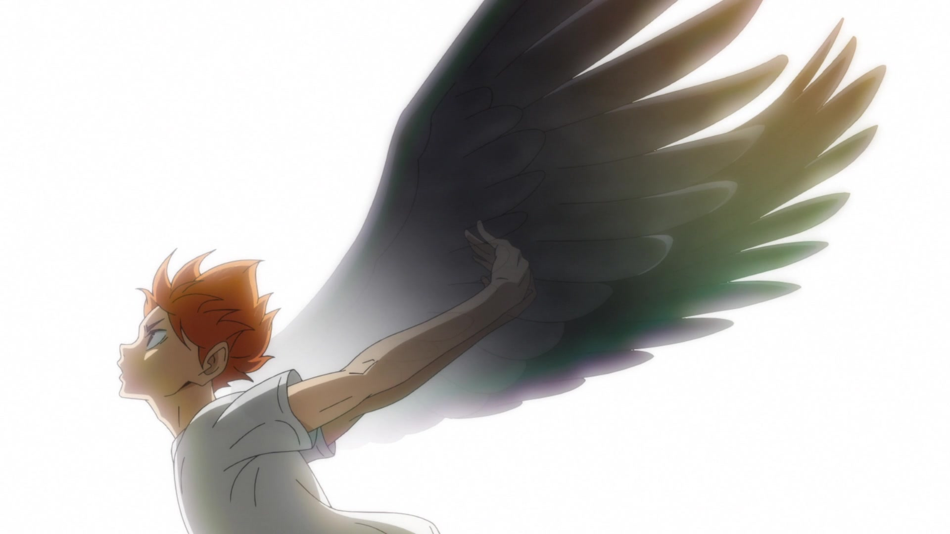 Hinata with wings from Haikyuu!! Season 4 anime episode 1