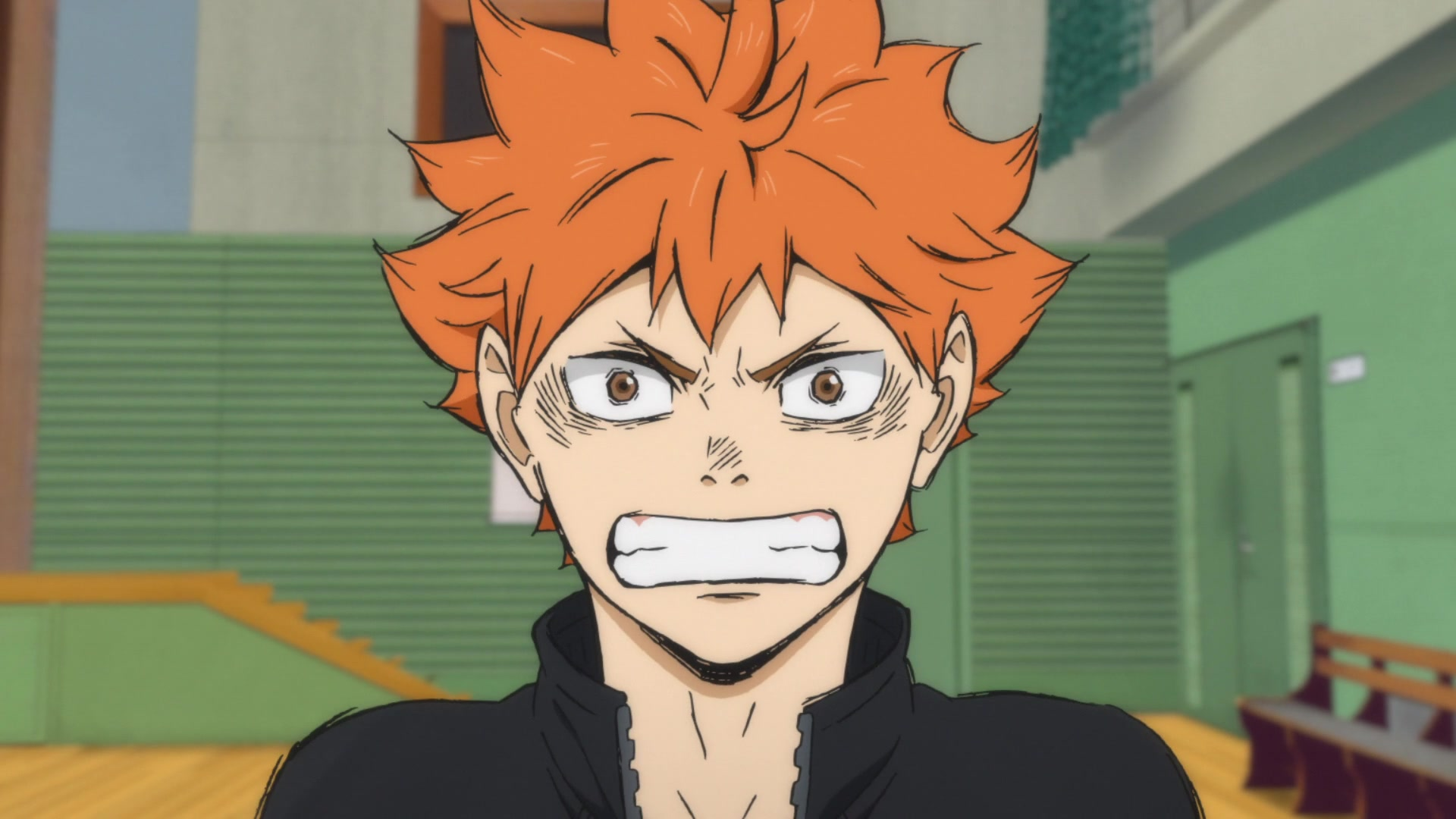 Hinata from Haikyuu!! Season 4 anime episode 1